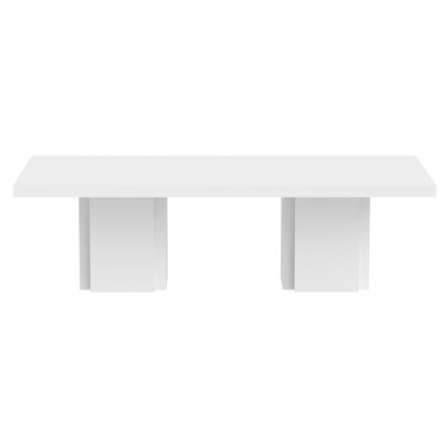 Dusk Dinning Table Finish: High Gloss White
