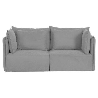 Dune Modular Loveseat Upholstery: Gray