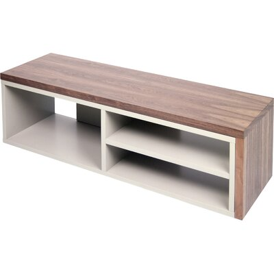 Move TV Stand Finish: Walnut / Grey