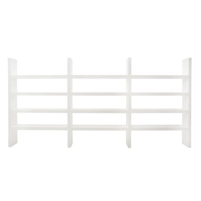 Denso Living Room II 84 Bookcase Finish: Pure White Product Image 512
