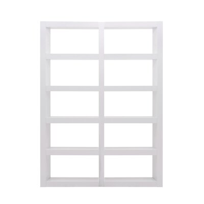 Denso Composition 2011-016 Shelf Etagere 84'' Bookcase Finish: Pure White Product Picture 182