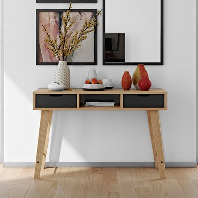 Lime Console Table