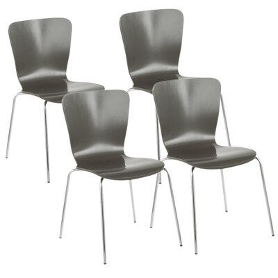 Aldora Side Chair Color: Gray