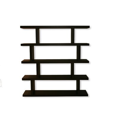 Step High Shelving Unit 68'' Bookcase Finish: Wenge Product Picture 247