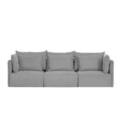 Dune Modular Sofa Upholstery: Gray