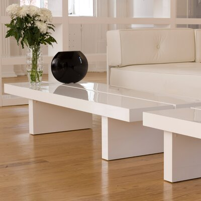 Tokyo Coffee Table Finish: High Gloss White, Type: High