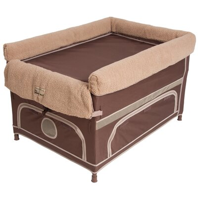 Duplex Pet Bunk� Dog Cot Color: Cocoa, Size: Medium ( 34 L x 20 W)