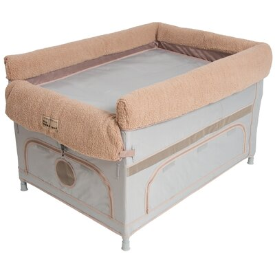 Duplex Pet Bunk� Dog Cot Color: Gray, Size: Large ( 28 L x 40 W)