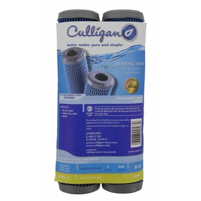 Level 1 Under Sink Filter Replacement Cartridge (Pack of 2)