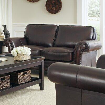Lazzaro Leather 5141-20-9011B Leather Loveseat