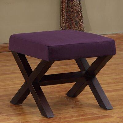 Ottoman Upholstery: Purple