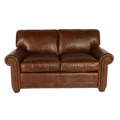Genesis Leather Loveseat