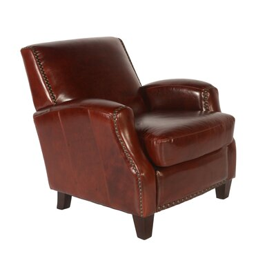 Lawrence Club Chair Color: Brompton Chocolate