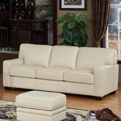 Lazzaro Leather WH 5142 31 3338 Como Leather Sofa