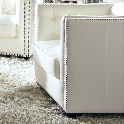 Belaire Armchair Color: White