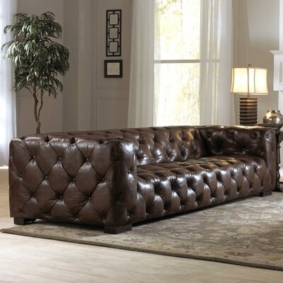 Lazzaro Leather WH 1405 35 9015 Nautical II Leather Sofa