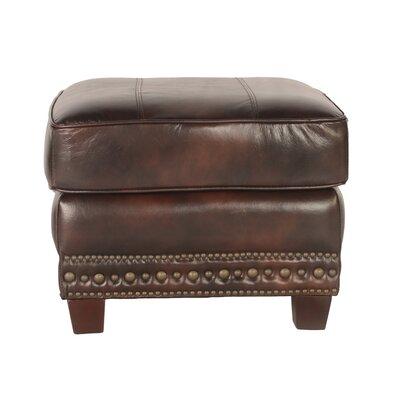 Anna Leather Ottoman Upholstery: Toberlone