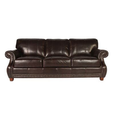 Anna Leather Sofa Upholstery: Toberlone