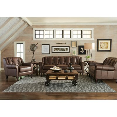 Lucia Leather Living Room Collection