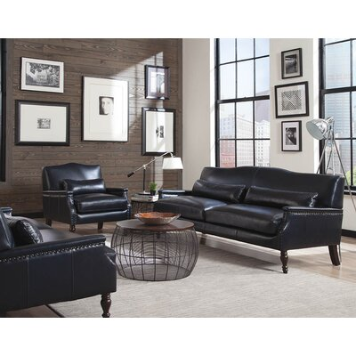 Eubanks Leather Configurable Living Room Set