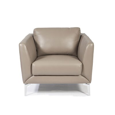 Anvers Leather Arm Chair
