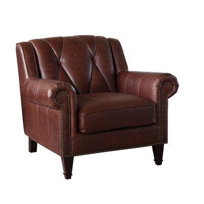 Lucas Leather Club Chair