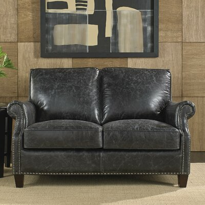 Nathan Leather Loveseat