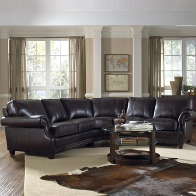 Anna Leather Sectional