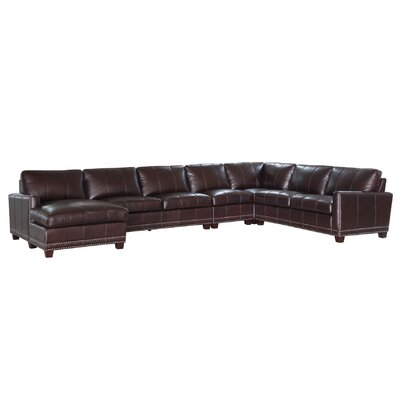 Bozeman Leather Sectional