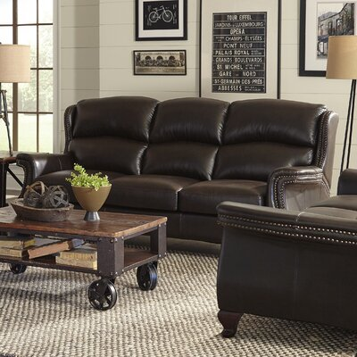 Bendell Leather Loveseat