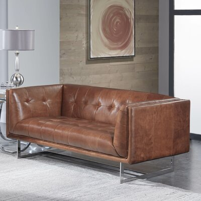 Vercelli Leather Sofa