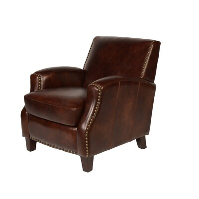 Lawrence Club Chair Color: Rustic Savauge