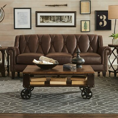 Lucia Leather Sofa
