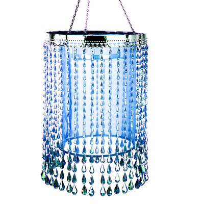 Swanley Raindrop Crystal Chandelier Color: Blue