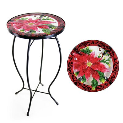 Poinsettia Bistro Table