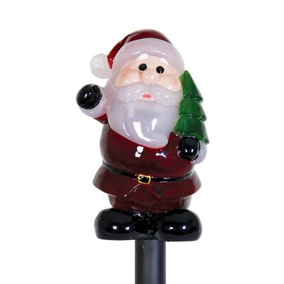 Solar Santa Claus Plant Stake Christmas Decoration
