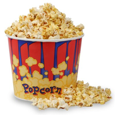 Movie Theatre Popcorn Bucket 1272 Big Bucket 25 Count