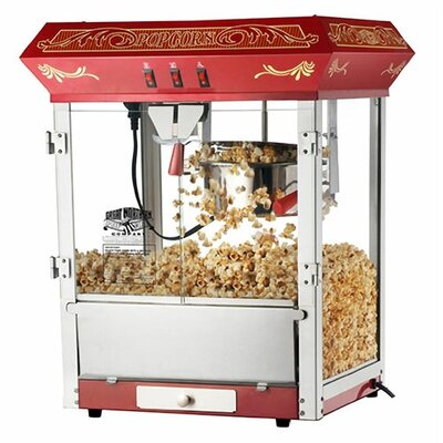 Great Northern Popcorn 8 Oz. Popcorn Popper Machine - Color: Red at Sears.com
