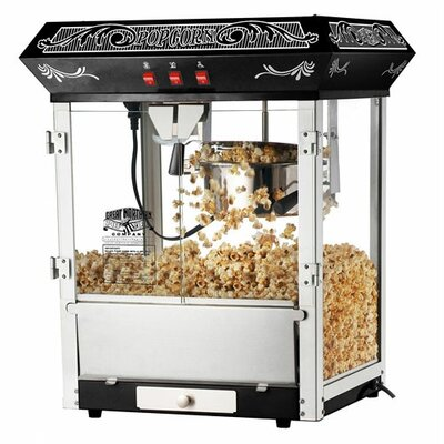 Great Northern Popcorn 8 Oz. Popcorn Popper Machine - Color: Black at Sears.com