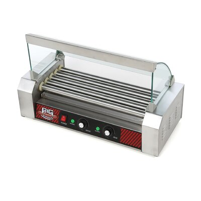 Big Dawg Commercial 5 Roller Hot Dog Machine with Cover 4091 GAP 5 Roller with Cover