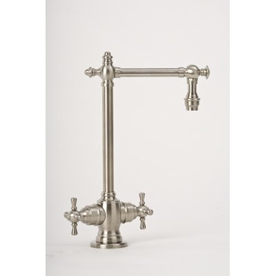 Towson Two Handle Single Hole Bar Faucet with Cross Handle