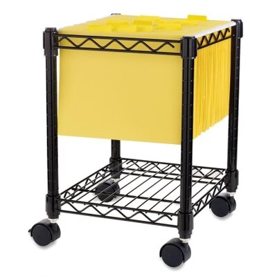 Compact Mobile File Cart 62950