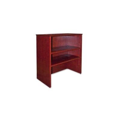 Lorell 9000 Series 36.5 H x 33 W Desk Hutch FInish: Mahogany