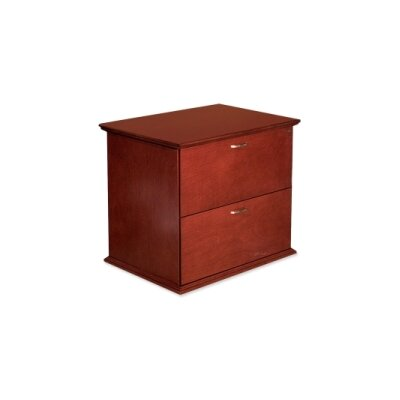 Lorell 9000 Series 29 H x 24 W Desk File Pedestal FInish: Mahogany