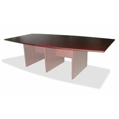 Luminary Series 8 Boat Shaped Conference Table