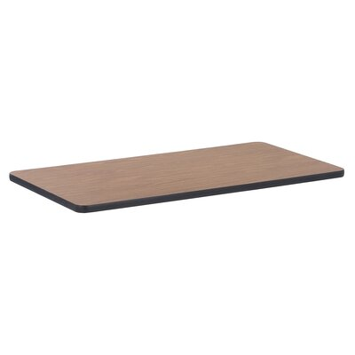 Classroom Laminate Activity Tabletop Size: 1.8 H x 26 W x 49 D