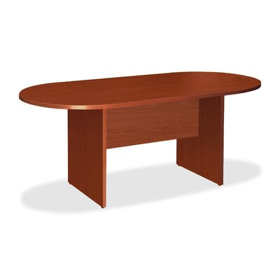 Greenburgh 6 Oval Conference Table Finish: Cherry