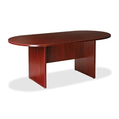 Greenburgh 6 Oval Conference Table Finish: Mahogany