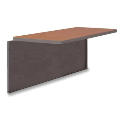 42 W Desk Bridge Laminate Top: Cherry