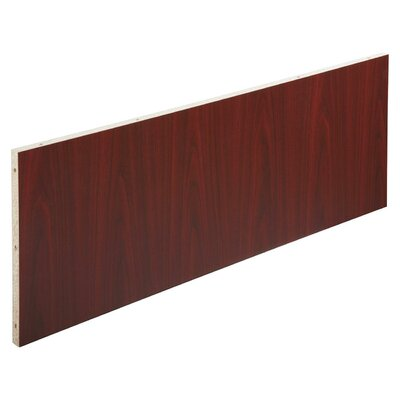 18.9 H x 48.02 W Desk Privacy Panel Finish: Mahogany